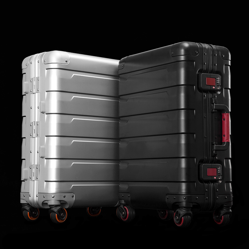 Aluminum-magnesium alloy trolley Luggage-HTGZ-1810-Greatchip