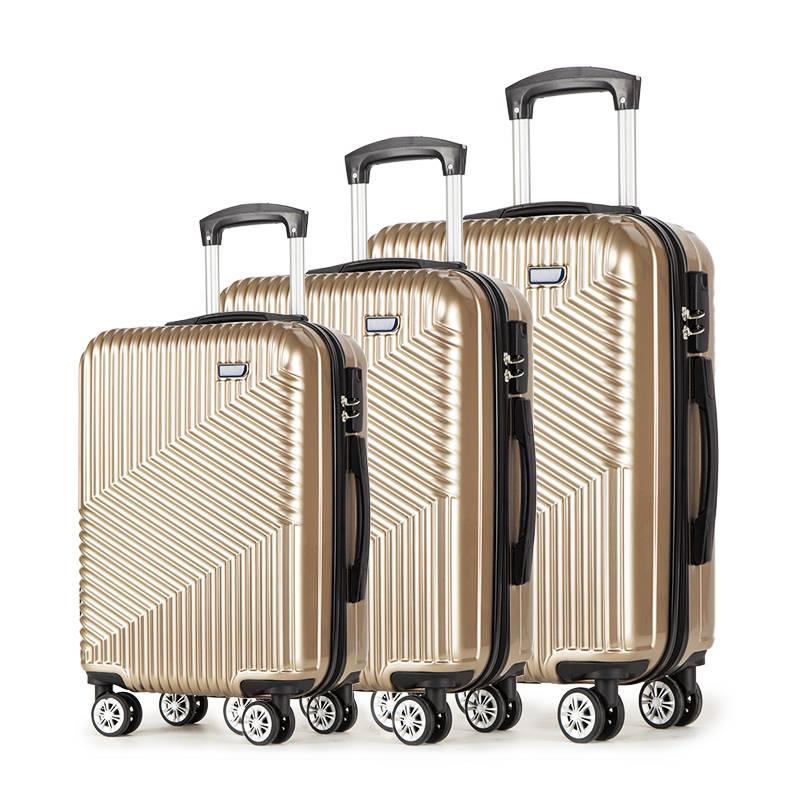 ABS Luggage Hard Side Lightweight Suitcase