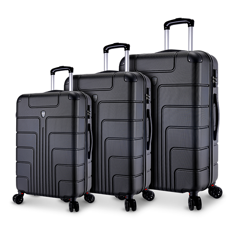 ABS high quality Travel carry-on Custom cabin Trolley Bags suitcases luggage set