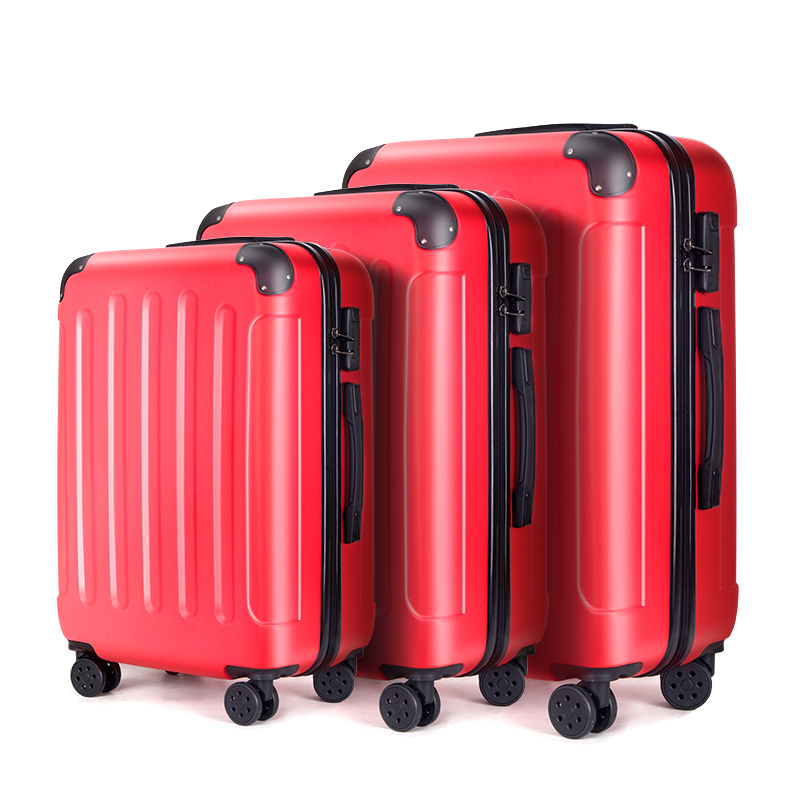 2020 Wholesale Ultralight ABS Luggage Bags Carry On Luggage Suitcase