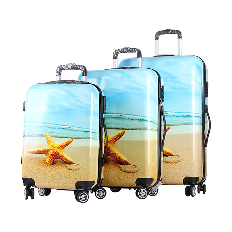 ABS+PC trolley luggage sets-HT-PC09-Greatchip