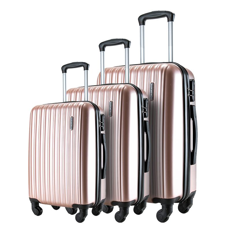 Travel hard case luggage trolley suitcases customized luggage