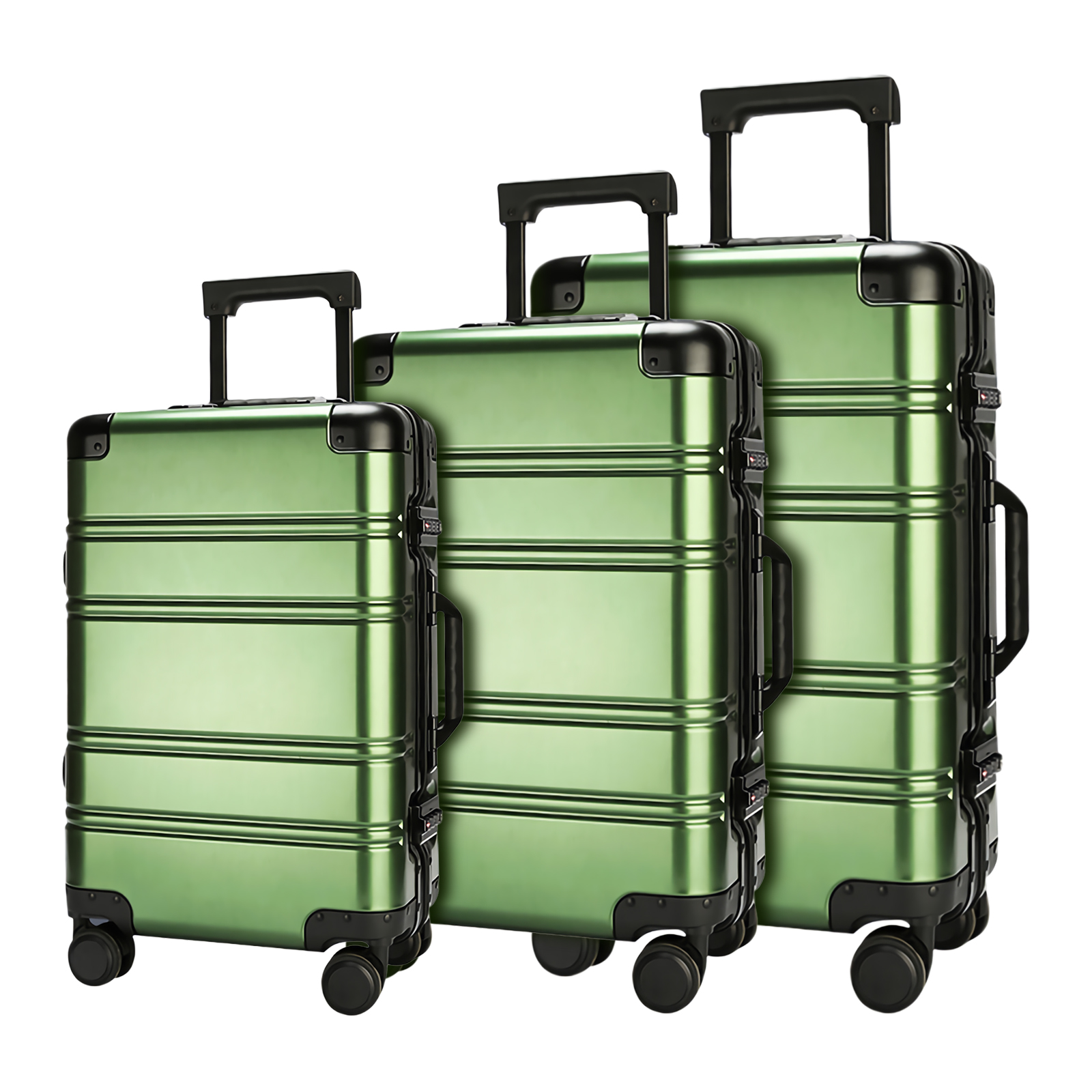 Aluminum-magnesium alloy trolley luggage-HTYS-M06-Greatchip