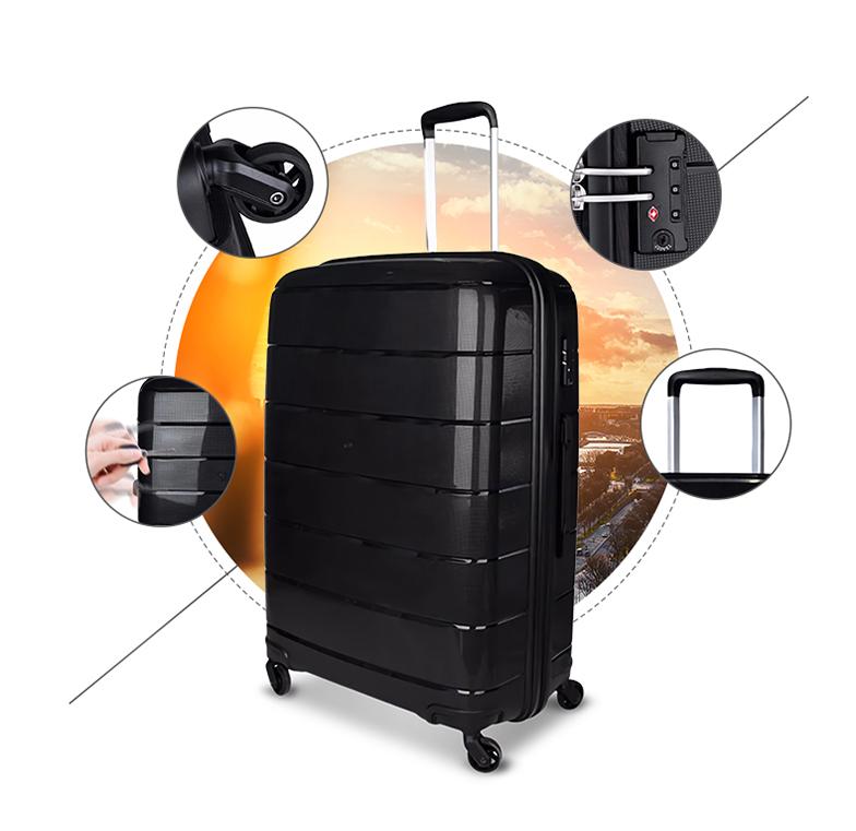 Wear-resisting / Silent caster / TSA lock / Aluminium alloy rod-ITP-Greatchip