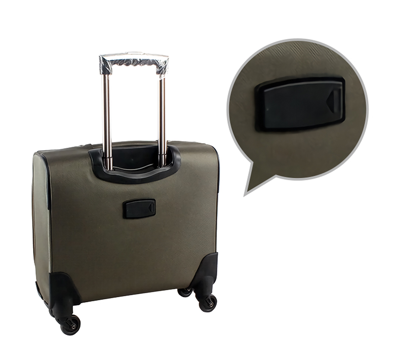 You can leave your information on an identification label to easily distinguish your bag.  Also, once you lose it, airport staff can help contact you-DGZY-LP3-Greatchip