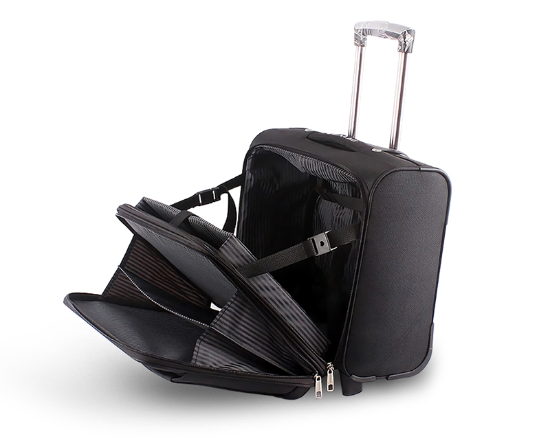 Fashionable business style, specializing in the air plain, Insert a 15.6 inch laptop insideTow or three-day  clothing can be held in it.4 compact portable spinners under the seat-DGZY-LP1-22-Greatchip