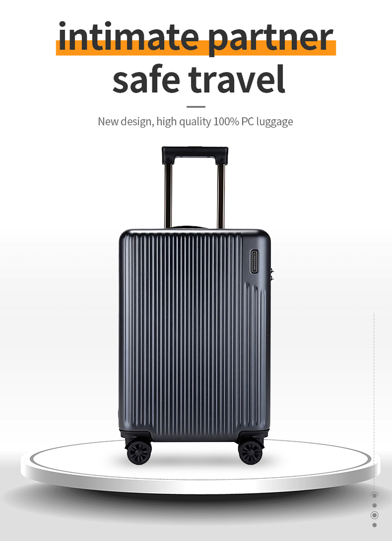 New design, high quality 100% PC luggage-708A-Greatchip
