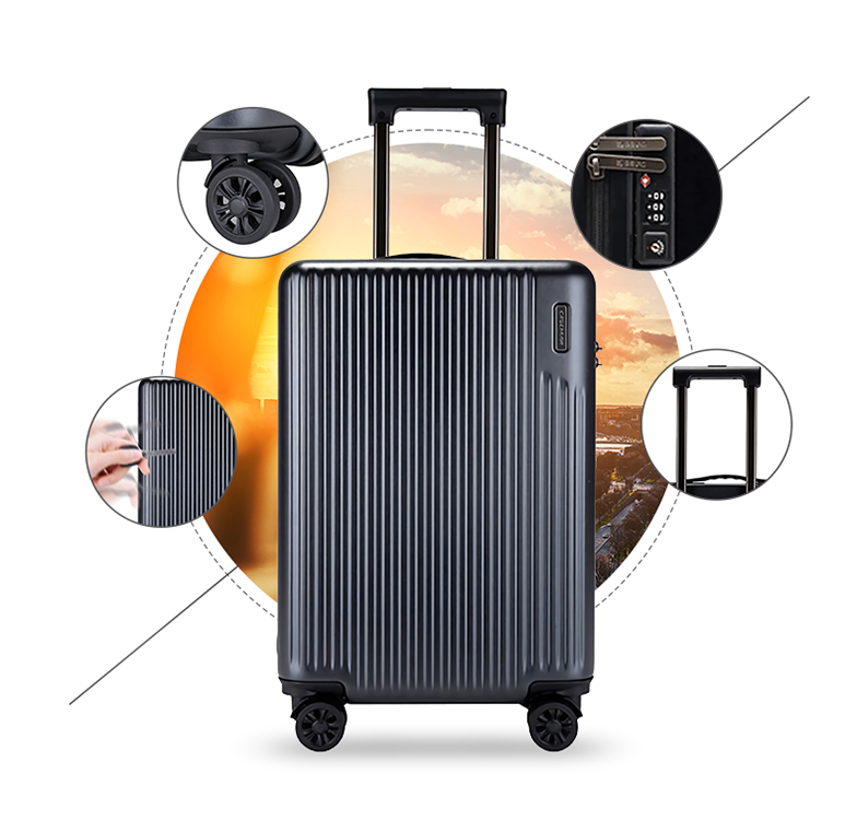Wear-resisting / Silent caster / TSA lock / Aluminium alloy rod-708A-Greatchip
