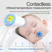 Infrared Thermometer LED Display Non contact digital no touch body temperature g