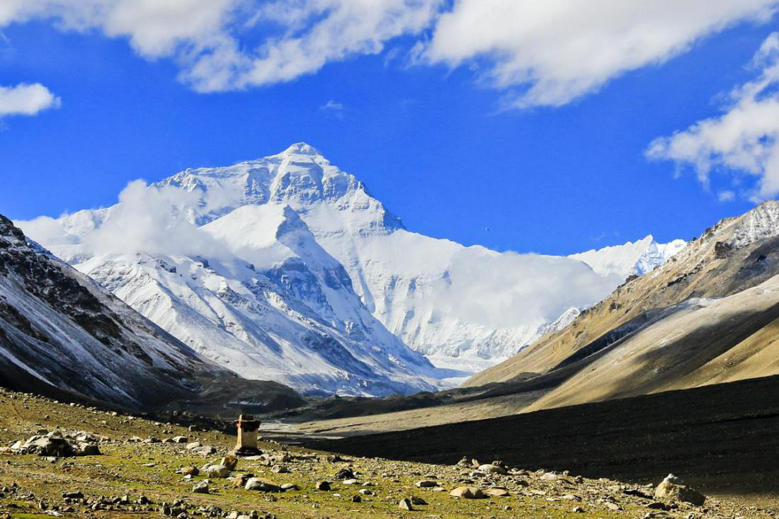 Everest: Watching the Mind (Tibet) (climbing season from late April to early June, mid-September to early tenth)