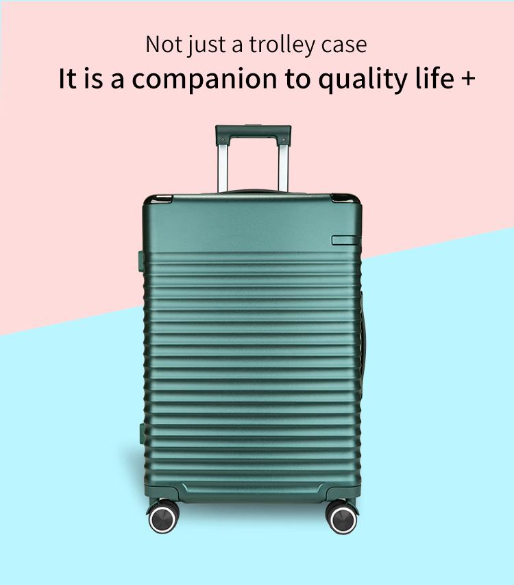 Aluminum Trolley Suitcase Luggage