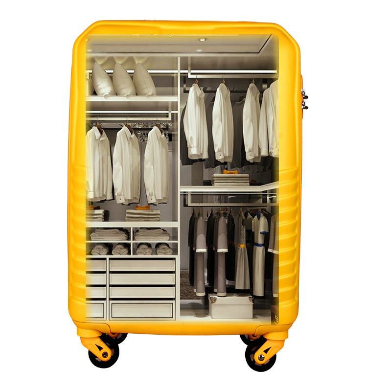 Travel suitcase sets